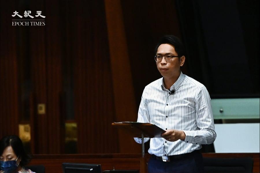 陸頌雄再質詢港台違「一中」 邱騰華:會恪守原則