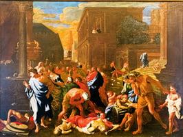 名畫中羅馬帝國的正邪較量與大瘟疫(中)