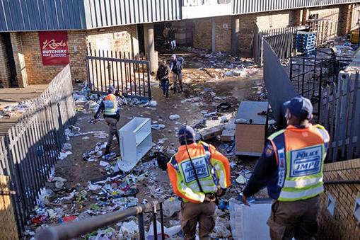 南非暴力事件加劇 至少45人死亡