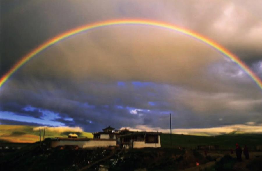 西藏的神秘現象 高僧圓寂人體虹化
