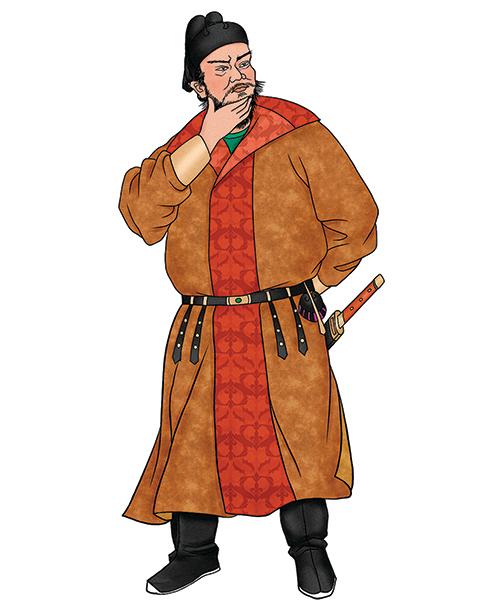 安祿山,「安史之亂」的主要發動人之一。(公有領域)