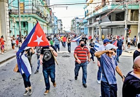 古巴民眾示威 對誰影響更大?