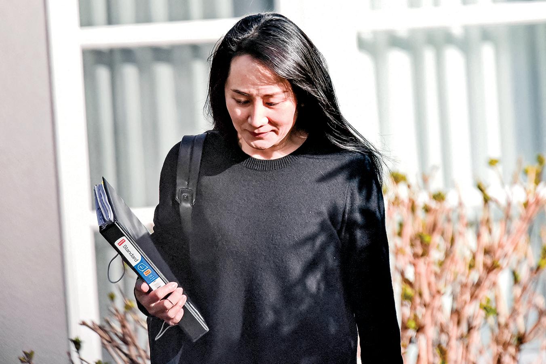 最近,孟晚舟為美國引渡案提交新證據,但遭加拿大法官拒絕。(Getty Images)