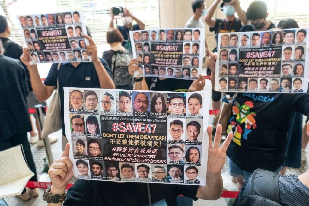 兩名知情人士告訴路透社,美國政府準備在周五(7月16日)對一些中共官員實施制裁。此外,美國政府也會對在香港經營的國際企業發出警告,稱香港情況正在惡化。(Anthony Kwan/Getty Images)