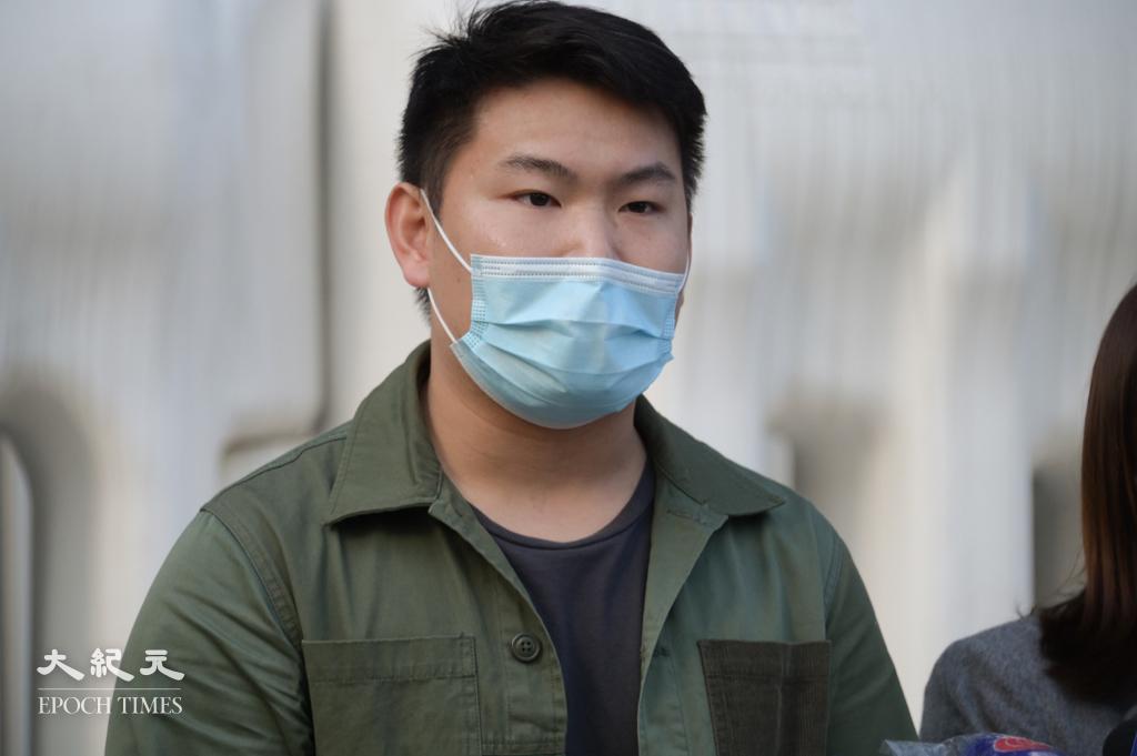 深水埗區議員劉家衡昨日(15日)表示已經「流亡」,只能暫時依賴眾籌金維生。資料圖片。(郭威利/大紀元)