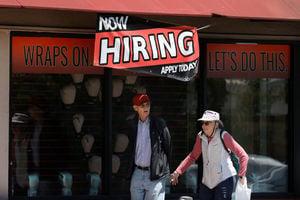 美國一周首領失業救濟人數錄36萬 紐約州及德州增7千以上