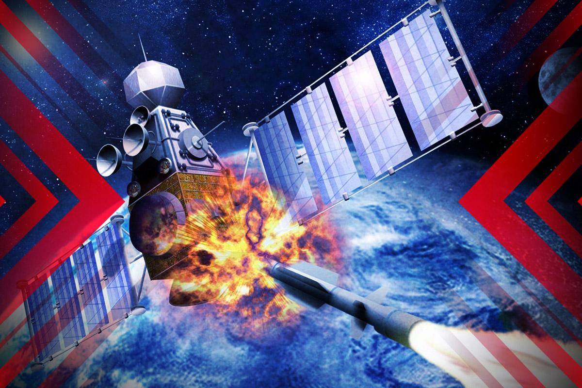 中共太空威脅震驚美國。(大紀元製圖)