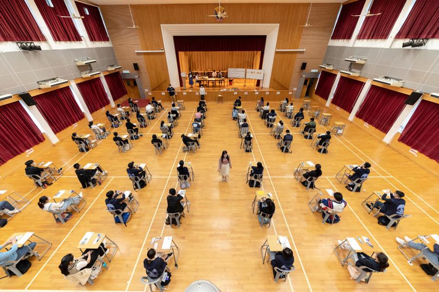 考生減少海外升學增加 學友社指今年大學入讀分數較低