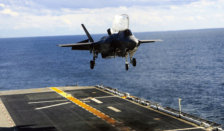 對抗中共 日本擬在東海基地部署F-35B戰機