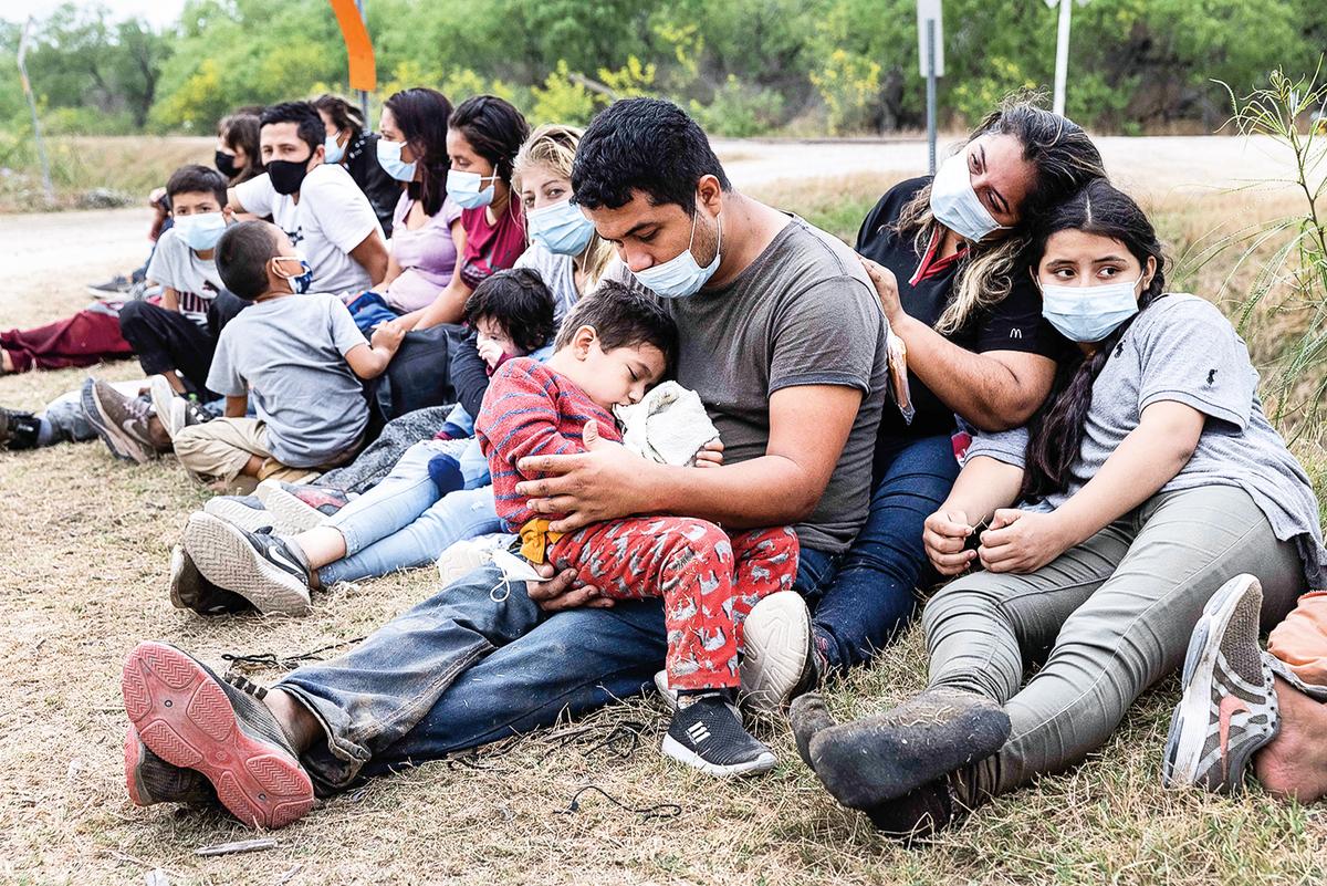 希斯表示,有160個不同的國家的人從南部邊境進入美國。(Getty Images)