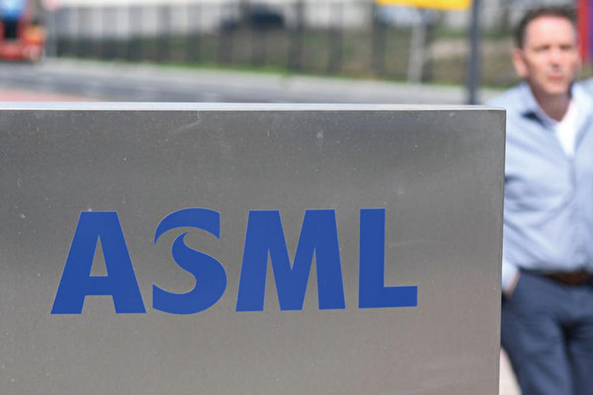 總部位於荷蘭的ASML是全球最大的光刻機製造商。(AFP)