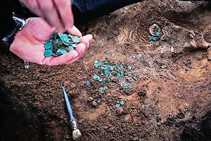 匈出土中世紀硬幣 極為稀有珍貴