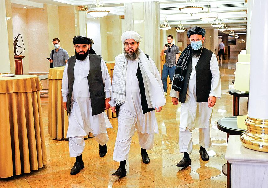 塔利班逼近新疆 中俄等國外交緊鑼密鼓