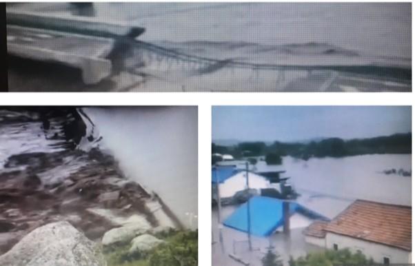 內蒙古兩座水庫決隄 1.6萬人受災 國道衝垮