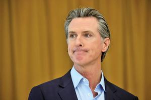 加州州長紐森面臨罷免