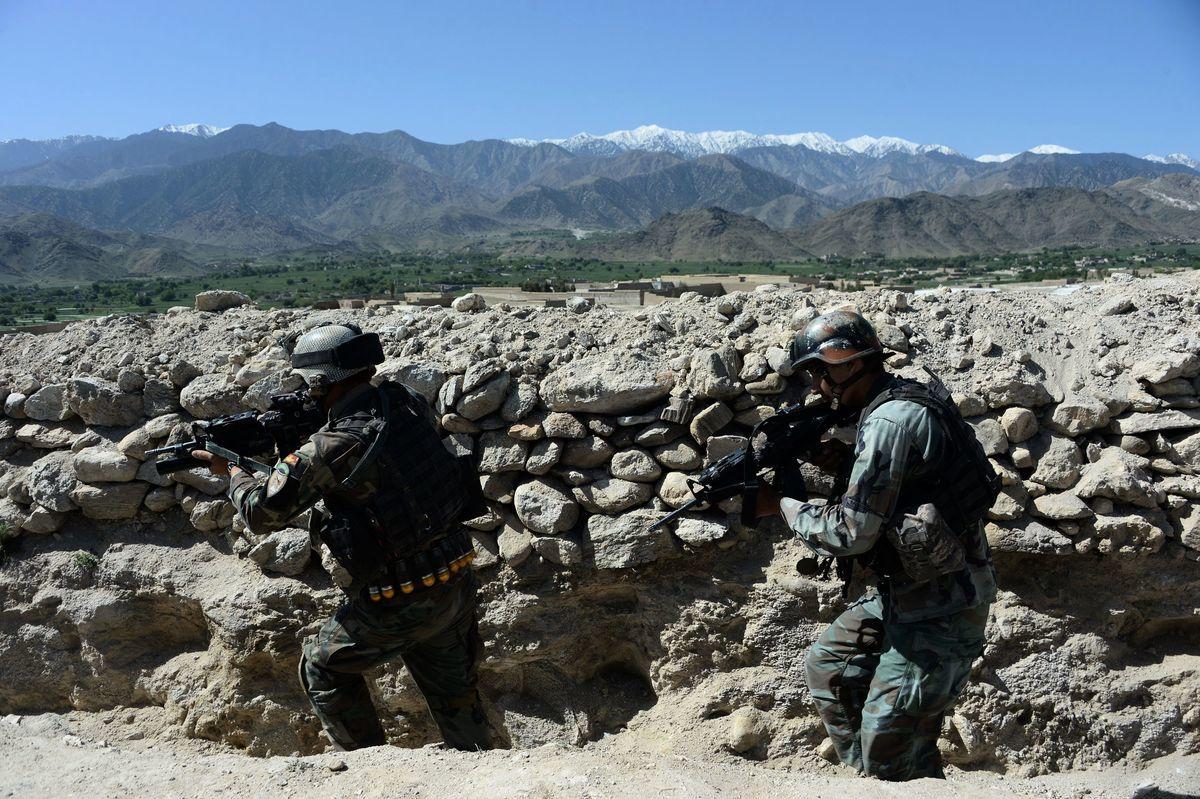 英國特種部隊正準備進行新的秘密任務,以對抗中俄。(NOORULLAH SHIRZADA/AFP/Getty Images)