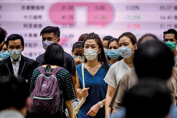 香港六月失業率回落至5.5%