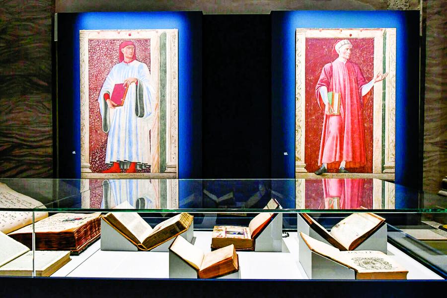 影響中世紀至近代藝術的 意大利文豪但丁