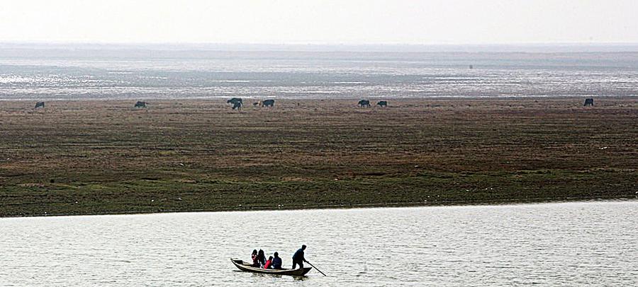 採砂二十年毀中國最大淡水湖