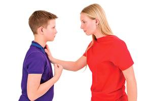 教孩子用語言,而不是用拳頭來解決衝突 (一)