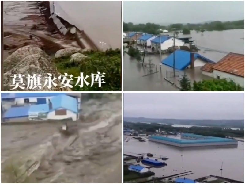 內蒙古兩水庫潰壩 專家:大陸水庫73%不安全