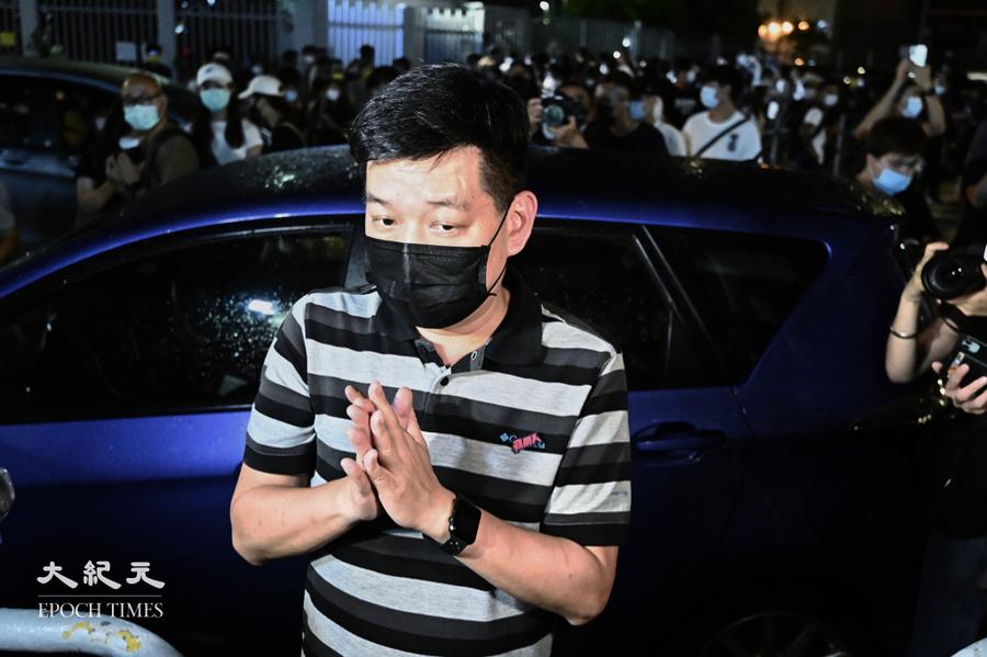 《蘋果》前執行總編輯林文宗今被警方國安處拘捕