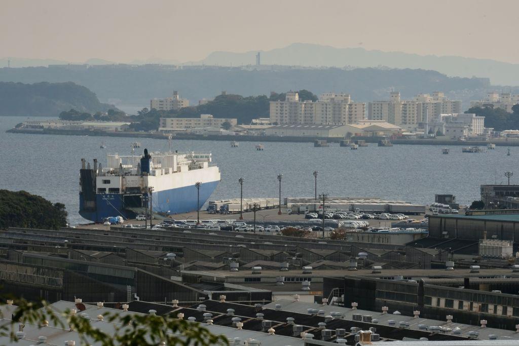 日本今(7月21日)公佈6月出口按年上升48.6%至72,208億日圓,整體貿易順差3,832億日圓。(KAZUHIRO NOGI/AFP via Getty Images)