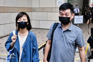 消息:《蘋果》前副社長陳沛敏、前主筆馮偉光遭撤保釋再被捕