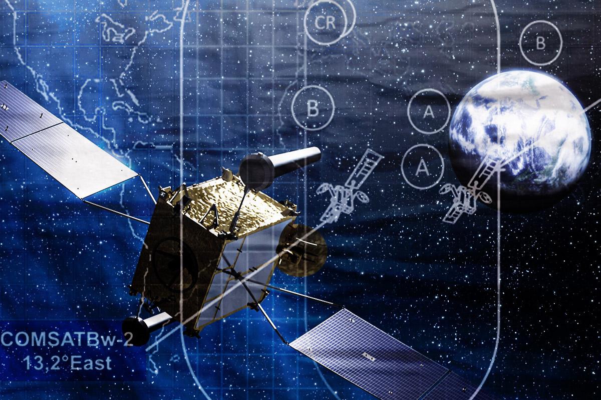 德國啟動太空司令部,挑戰中俄太空威脅。(大紀元製圖)
