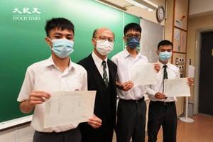 DSE放榜 | 英華狀元:社會氣氛壓抑 冀望大家緊守崗位