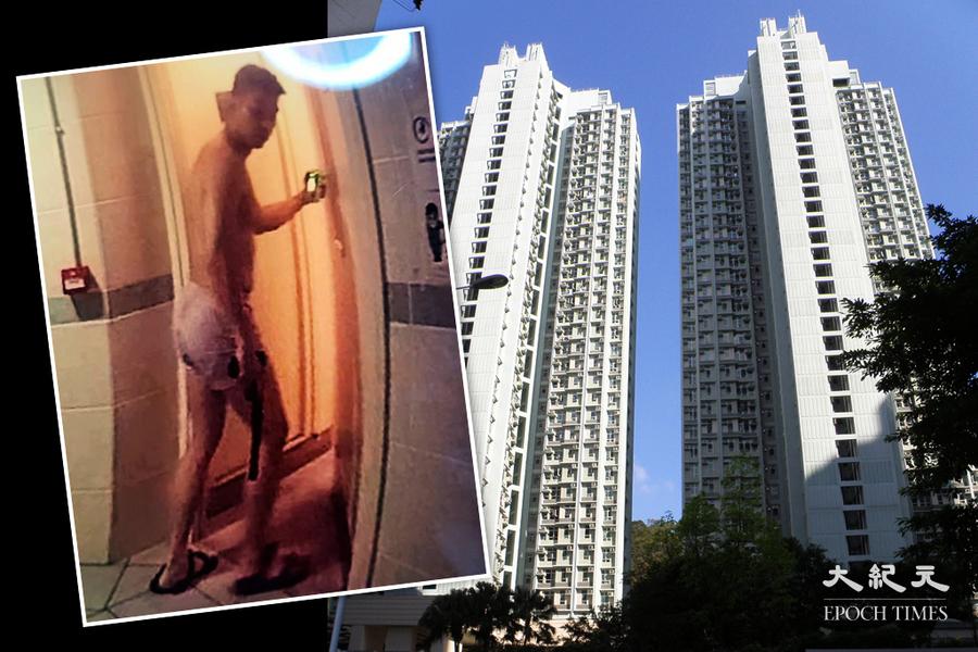 葵涌紀律部隊宿舍疑有人僅穿內褲持槍 警荷槍搜查發現是一支氣槍