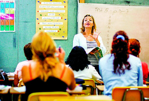 我去學校學英語