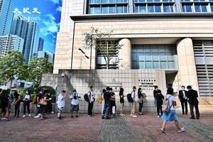 前《蘋果日報》四名高層被控串謀勾結外國勢力 申請保釋被拒