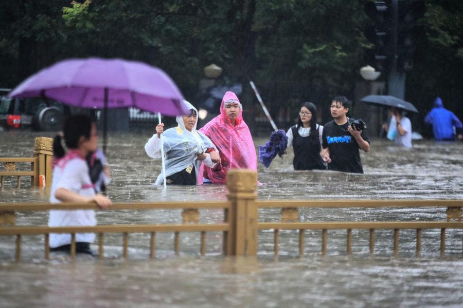 官方洩洪後12小時才公佈 專家:鄭州洪水是人禍