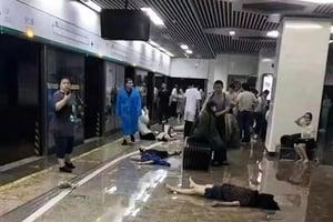鄭州地鐵屍體遍地 地鐵從業者揭真相