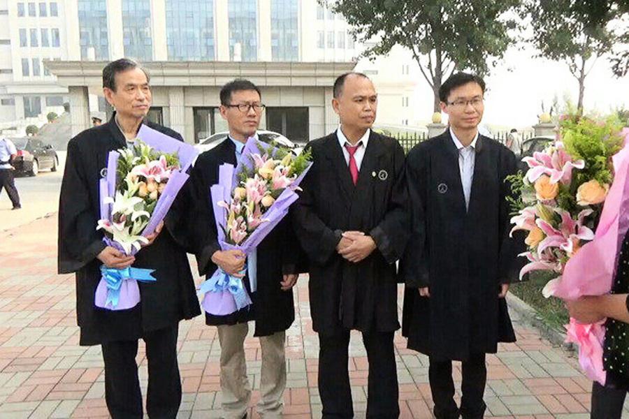大陸律師當庭指江澤民杜撰謠言
