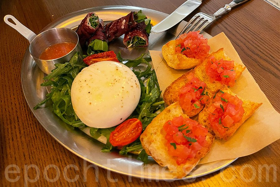 CICCHETTI PLATTER吸引在三款不同的意大利風味小吃,可以一次過試!(Siu Shan提供)