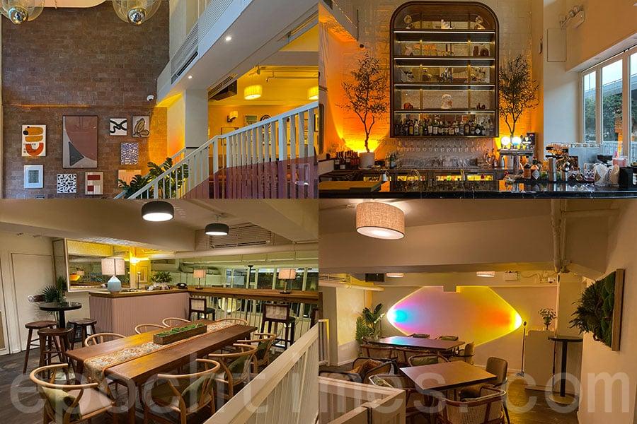 Casa Cucina & Bar樓高三層,每一層都有獨特格調擺設,打卡一流。(Siu Shan提供)