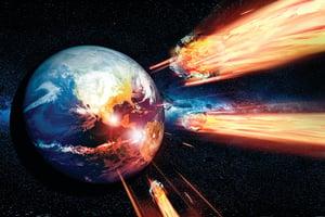 研究 早期地球常遭小行星撞擊