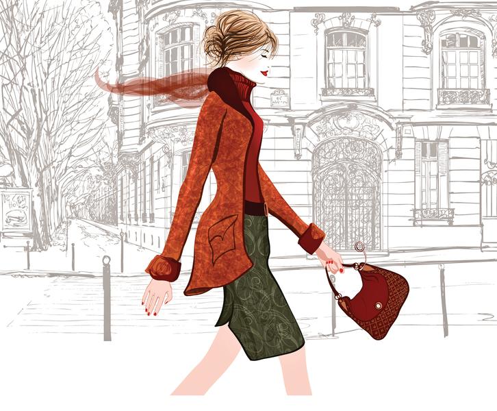 巴黎女人不需全身名牌 混搭更有魅力
