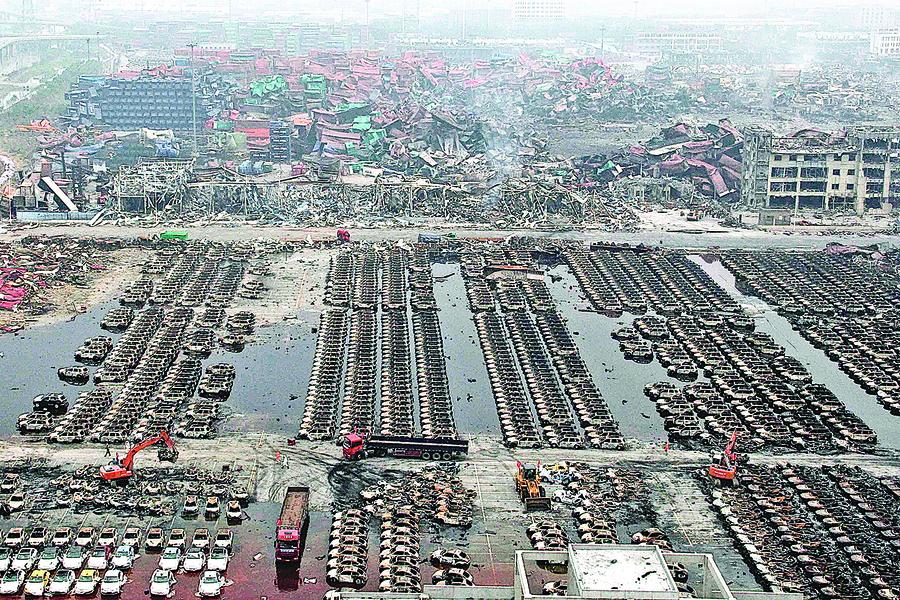 天津官場地震 上海頻出狀況