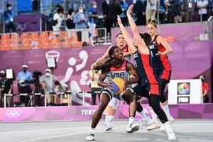 東奧7.24 3x3籃球首登場奧運 女子賽美17:10勝法 美第一夫人到場打氣