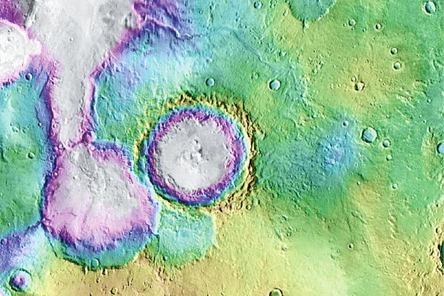 火星現古老湖泊生命存在時間或延10億年