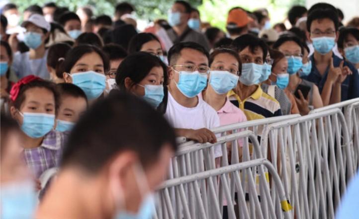 一覺醒來變黃碼 南京一周三次測核酸 被質疑