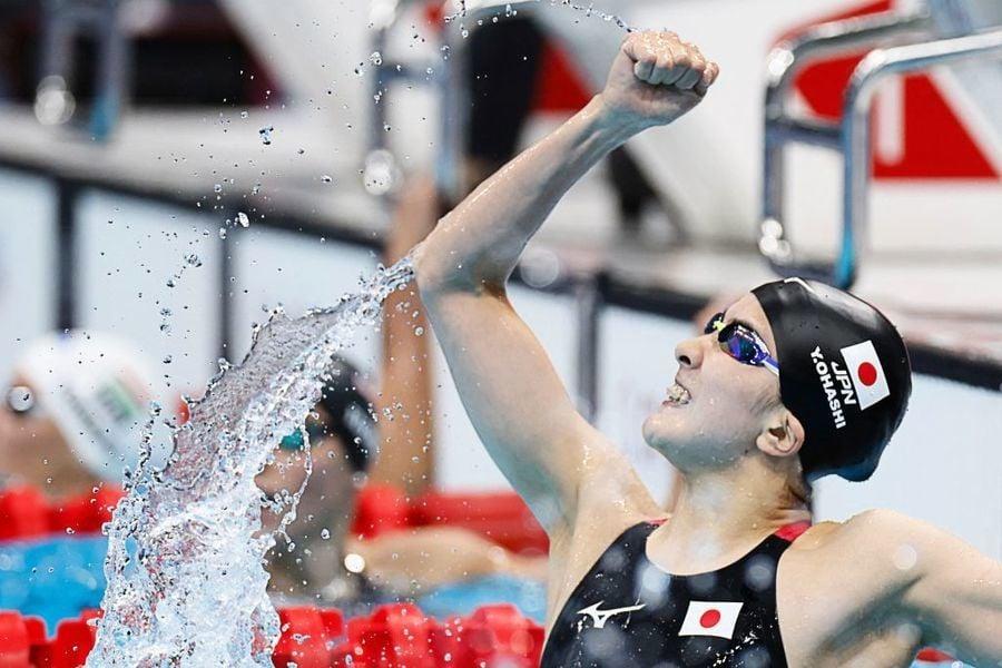 東奧7.25 日女子大橋悠依混合泳400米奪金 決賽中惟一亞洲代表