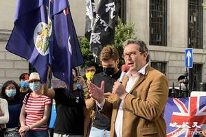 「香港監察」羅傑斯:歐盟需重新調整對中共關係