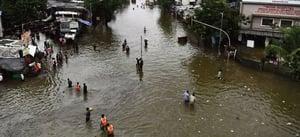 印度洪水致山泥傾瀉至少125死