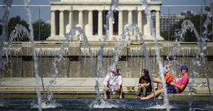 熱浪本周襲美國大部份地區