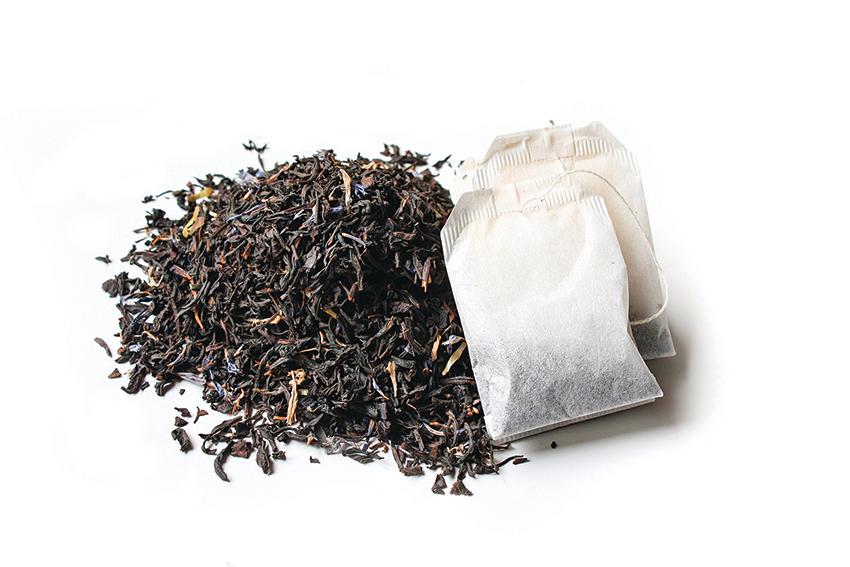 伯爵茶葉建議使用茶包內已經打碎的茶葉。