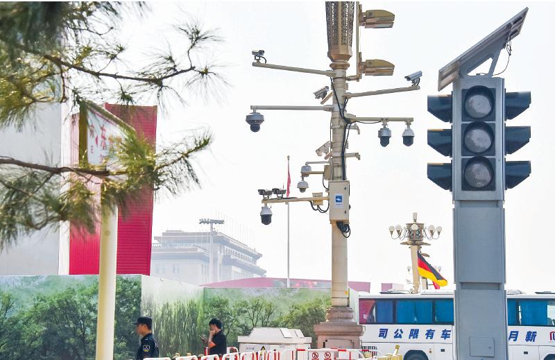 難以察覺的中國立體監控